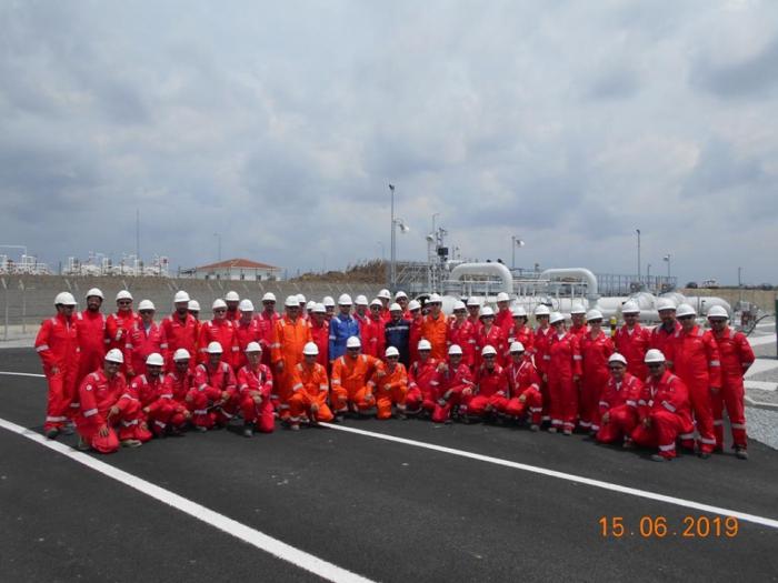 Le gaz naturel de Chahdeniz a été livré à la frontière avec l'Europe