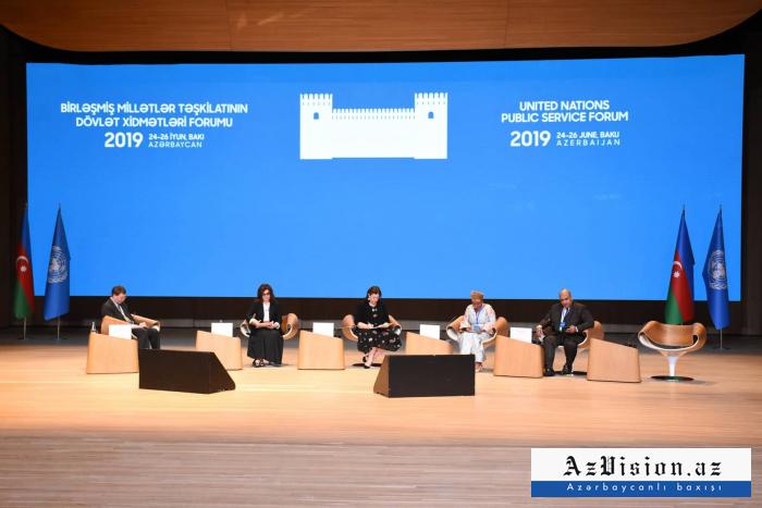BMT-nin Bakıdakı forumu davam edir - FOTOLAR