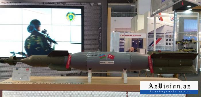 Azərbaycan silahları Moskvada nümayiş etdirilir - FOTOLAR