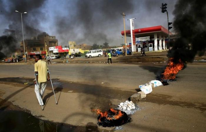 Sudanese forces storm protest camp, nine people dead: medics