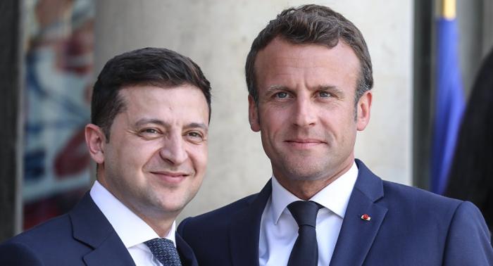 ماكرون: باريس ستعمل على تسهيل الحوار بين روسيا وأوكرانيا