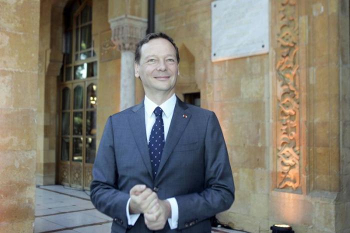 Emmanuel Bonne, conseiller diplomatique de Macron, s