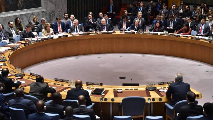 Réunion du Conseil de sécurité de l