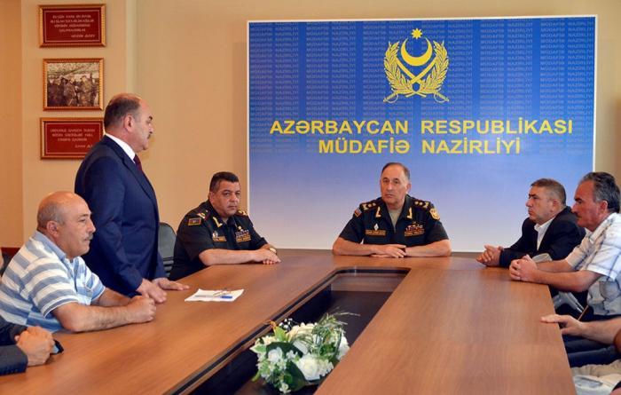 """General: """"Döyüşlərdə veteranlarımız rəşadətlə vuruşublar"""" - VİDEO+FOTOLAR"""