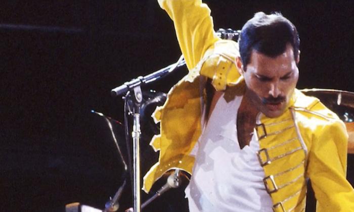 Un clip inédit de Freddie Mercury révélé plus de 30 ans après