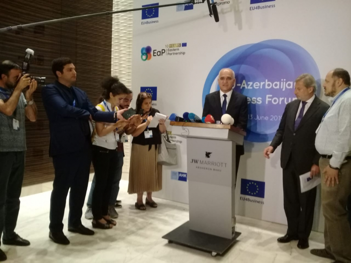 Minister: Azerbaijan - EU's main partner in South Caucasus