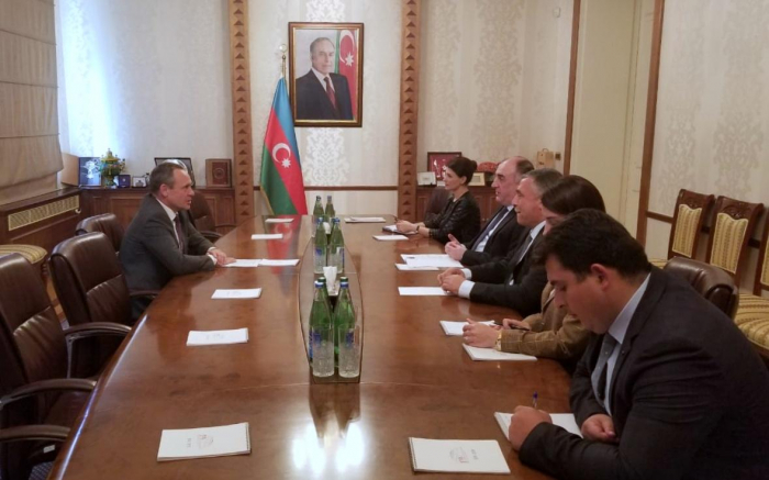 Azerbaijani FM meets Latvian envoy upon completion of his diplomatic term