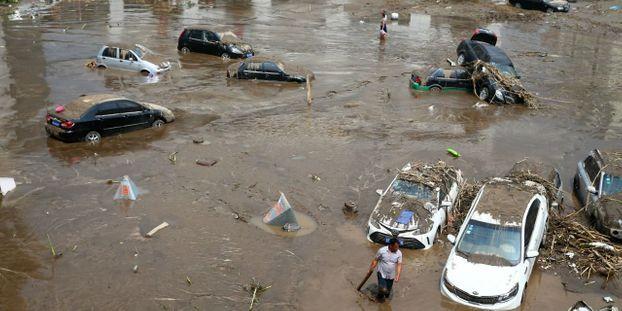 Chine:   au moins 19 morts dans des inondations
