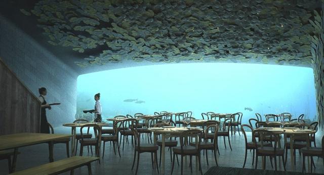 Voici le premier restaurant sous-marin d