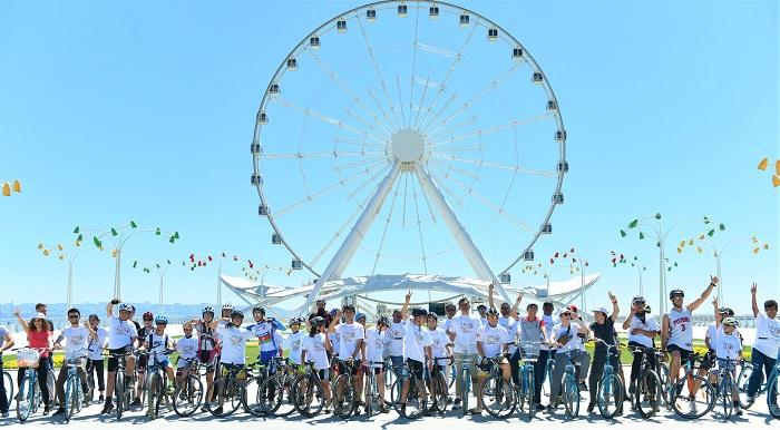 Cycling Event held to mark 150th Birth Anniversary celebrations of Mahatma Gandhi
