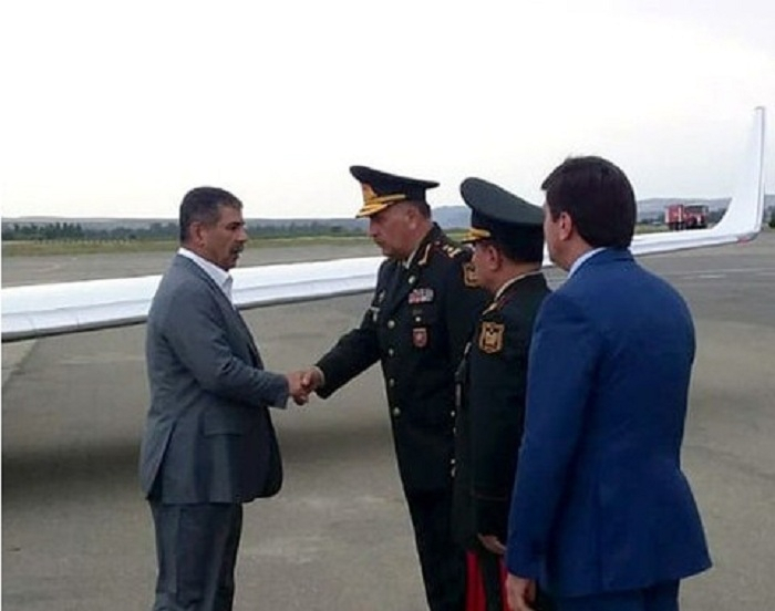 Ministers of Defense of Azerbaijan and Turkey arrive in Gabala