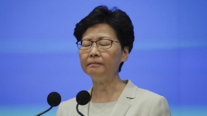 Regierungschefin Lam will nicht zurücktreten