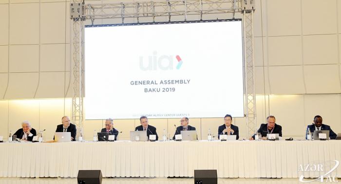 Arranca en Bakú la Asamblea General Extraordinaria de la UIA