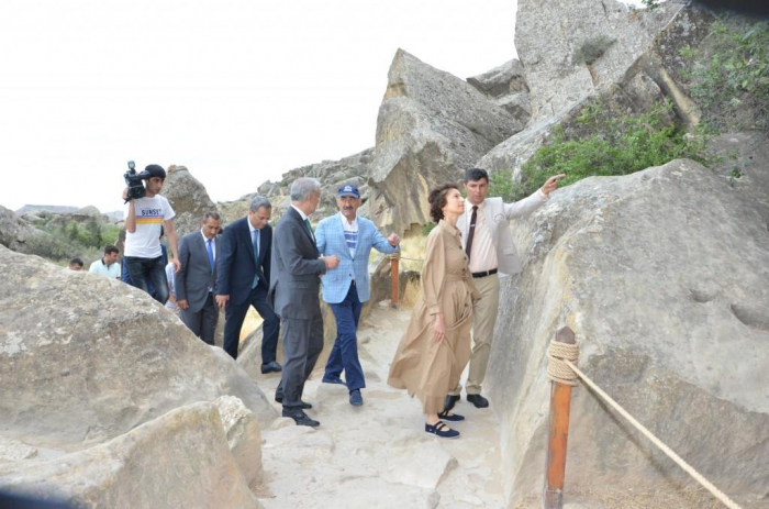 UNESCO Director-General visits Gobustan National Historical-Artistic Reserve