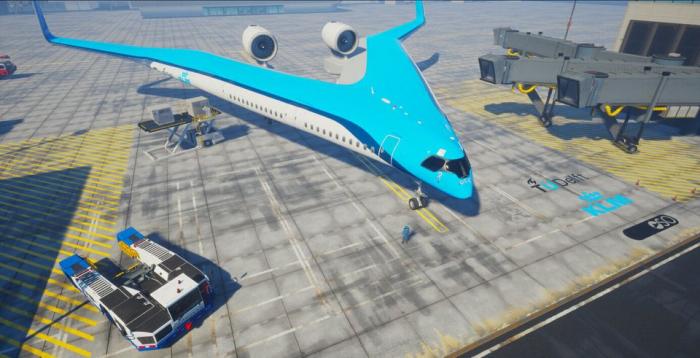 Un avion pouvant accueillir des passagers dans les ailes est en cours de développement