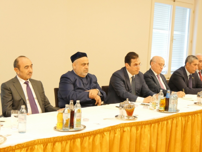 Azerbaijani delegation meets with members of Austrian government and parliament in Vienna
