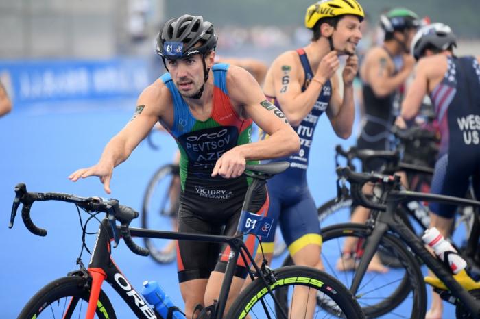 Azerbaijani triathlete ranks 4th at European Championships
