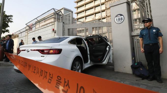Séoul: un véhicule contenant des cartouches de gaz percute l