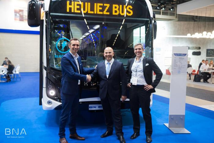 Los nuevos autobuses de Bakú, a partir de 2022 –  FOTOS