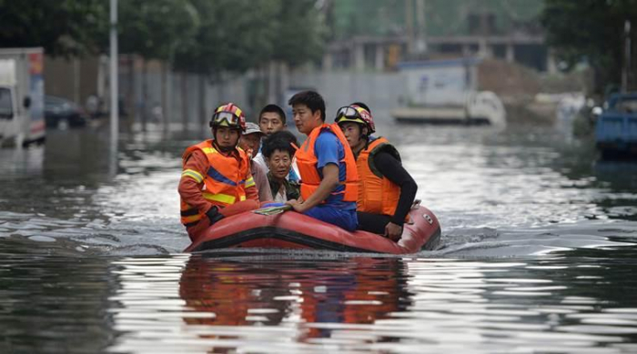 About 45,000 people evacuated in flood-hit southeast China