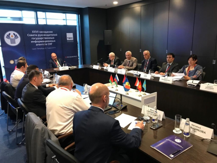 26th session of CIS Council of heads of state news agencies kicks off in Saint-Petersburg
