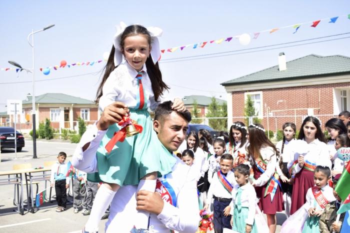 """Cocuq Mərcanlıda 26 ildən sonra ilk """"Son zəng"""" - FOTOLAR"""