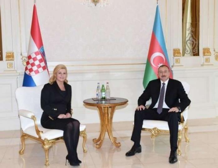 Azerbaijani president sends congratulatory letter to his Croatian counterpart