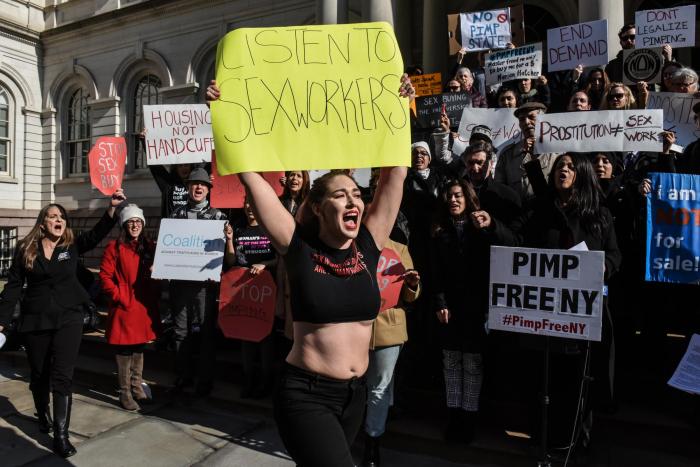 Several US states consider legislation to decriminalise prostitution