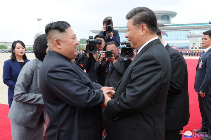 Kim, Xi agree to grow ties whatever external situation: North Korean media