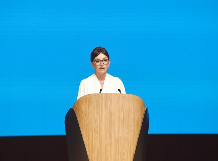 مهريبان علييفا في افتتاح منتدى الأمم المتحدة للخدمات العامة -  صور