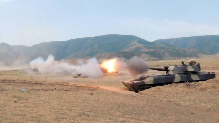 Azerbaijani army conducts training exercises in Corps in frontline zone -  VIDEO, PHOTOS