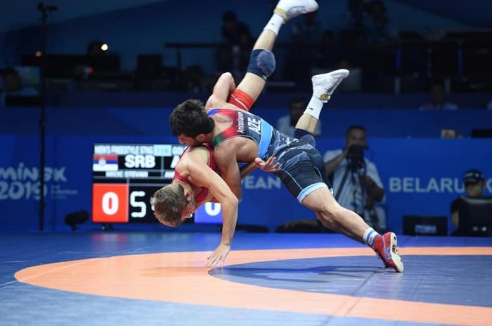 "Mahir Amiraslanov gana el primer oro para Azerbaiyán en ""Minsk 2019"""