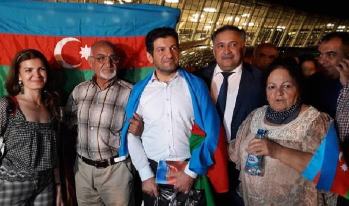 Fuad Abbasov artıq Bakıdadır