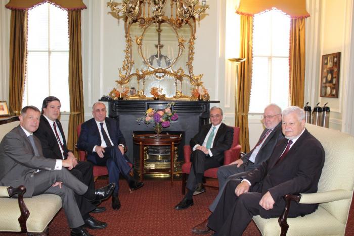 Meeting between Azerbaijani and Armenian FMs starts in Washington -  VIDEO