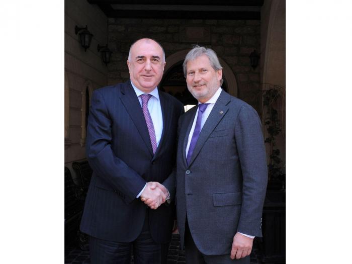 Azerbaijani FM meets with EU commissioner