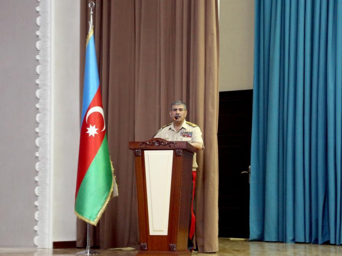 Azerbaijani minister: Military personnel must be educated in spirit of love for Motherland