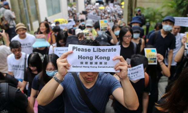 Hong Kong protesters call on foreign leaders to raise crisis at G20