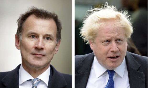 Hunt and Johnson are wildly different, but it's the latter who can deliver Brexit -  OPINION