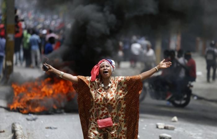 Haïti : un mort en marge de la manifestation réclamant la démission du président