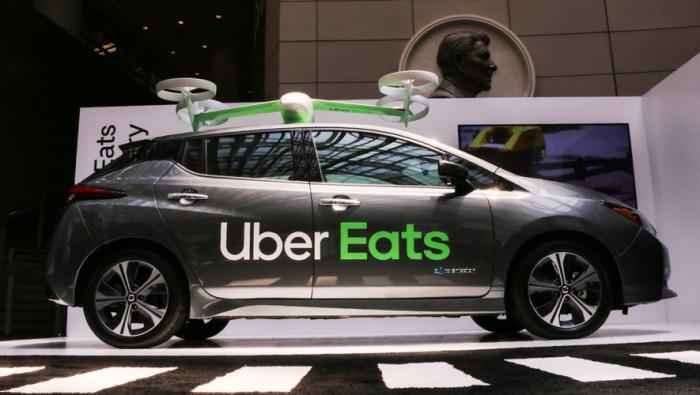 Uber va tester la livraison de repas par drones aux États-Unis