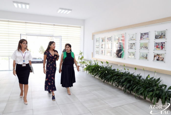Vice-President of Heydar Aliyev Foundation Leyla Aliyeva visits boarding schools in Baku