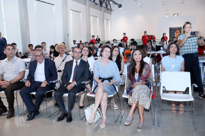 Leyla Aliyeva attends ceremony of launching first ever Inclusivity Hackathon in Azerbaijan