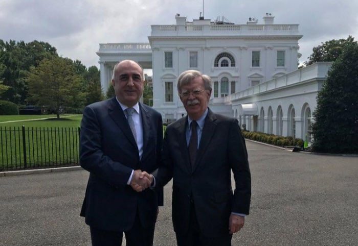 Mammadyarov a discuté du Karabakh avec John Bolton