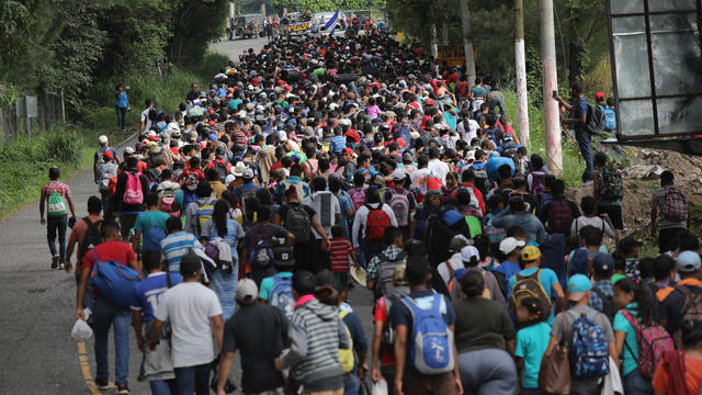 Dozens of migrants flee from support centre in Mexico over poor treatment