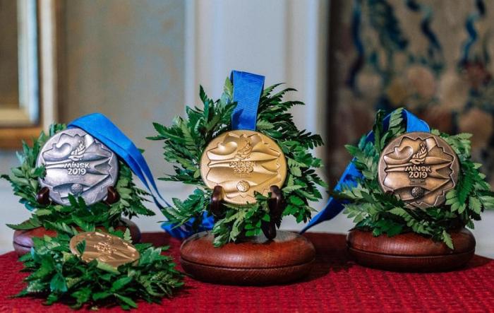 """""""Minsk 2019"""": Azərbaycan 4 günə 11 medal qazanıb"""