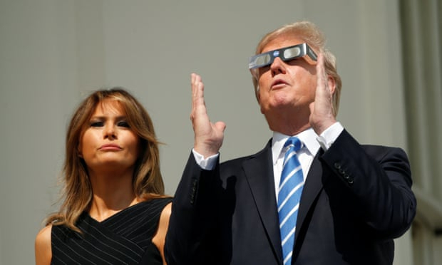 Trump attacks Nasa and claims the moon is