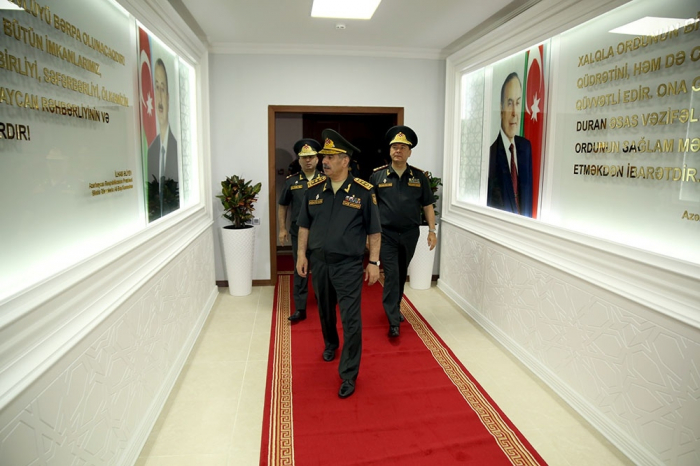 New administrative building of Command Control Center of Azerbaijan`s Ministry of Defense opens