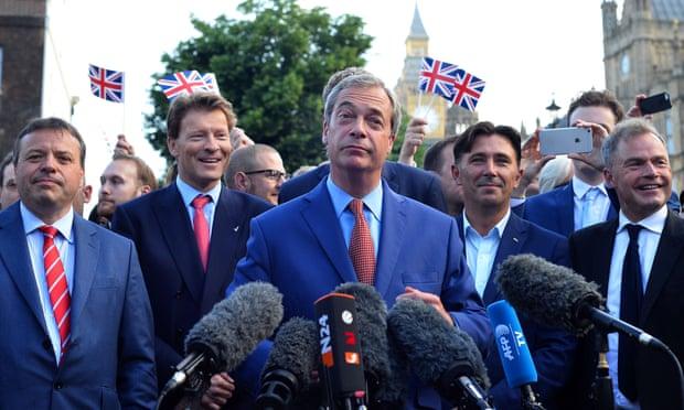 EU gives Nigel Farage 24 hours to explain Arron Banks funds