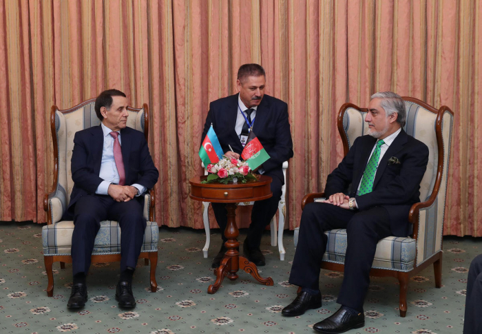 Azerbaijani PM meets with Chief Executive of Afghanistan