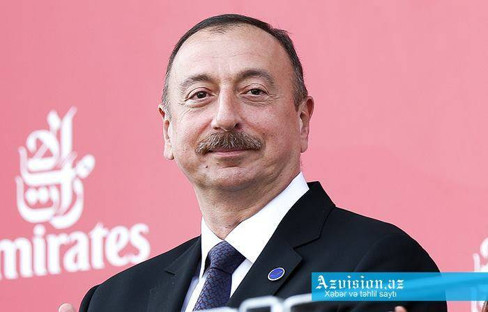 Prezident general-qubernatoru təbrik edib